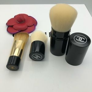 New 3X CHANEL LES PINCEAUX DE CHANEL Kabuki Brush